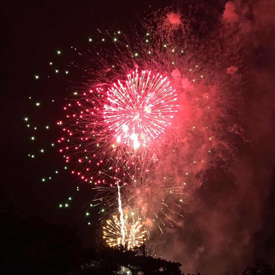 第2回宜野座村美ら島花火大会は約1000発の花火が上がります。プチ...
