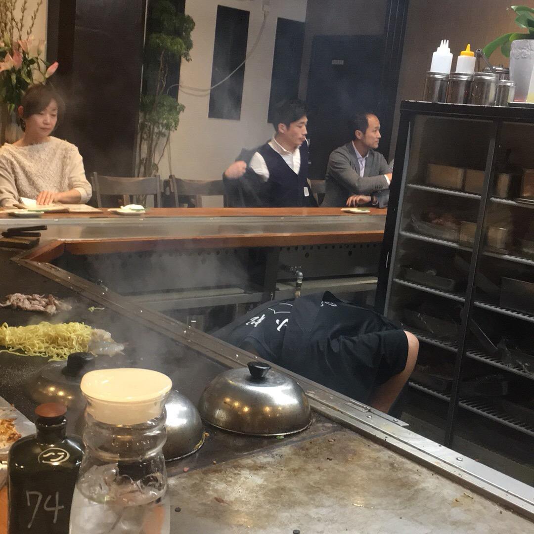 鉄板焼き屋さん♡ 美味しい♡ #小松 #一宮