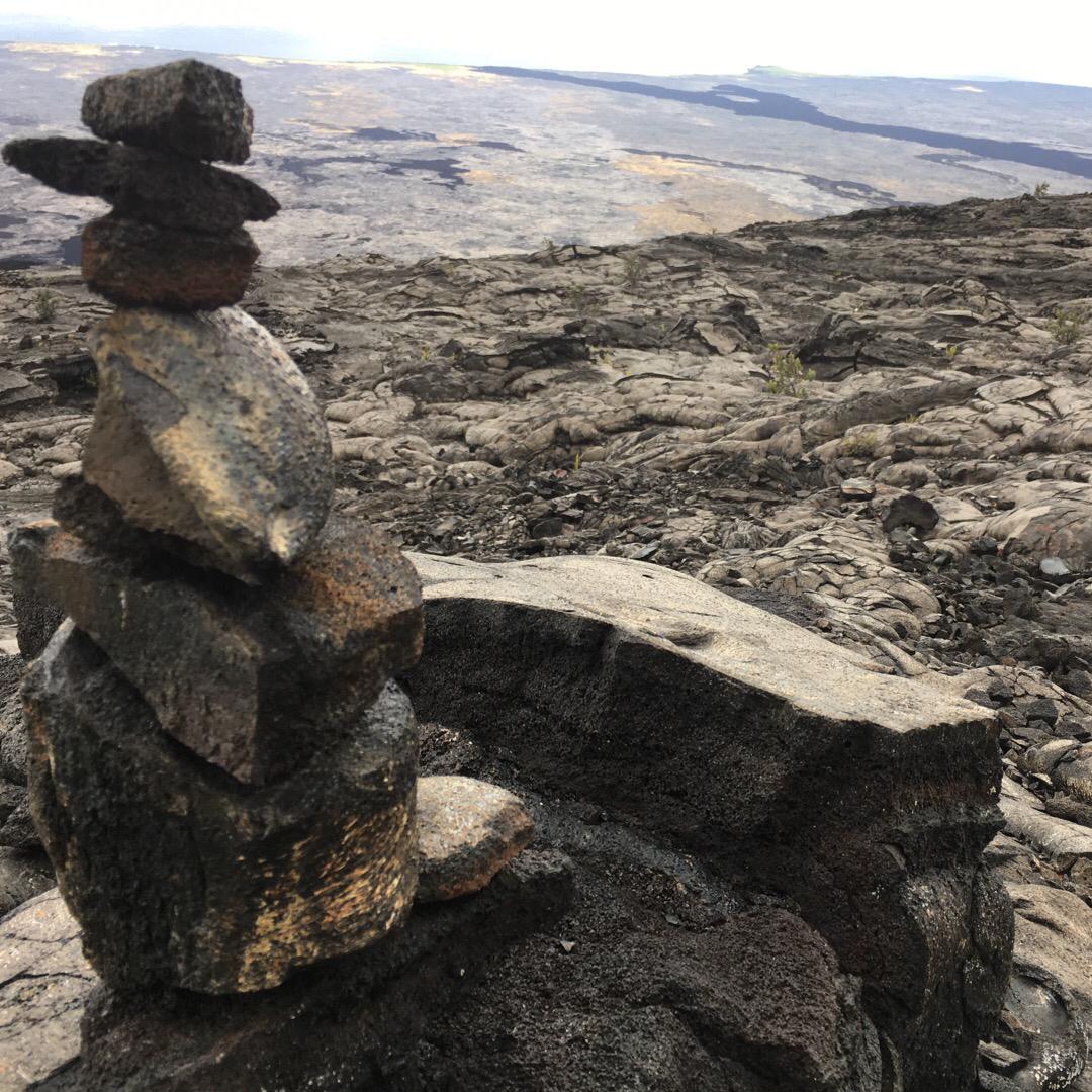 キラウエア火山🌋 溶岩の上をお散歩🚶♂️