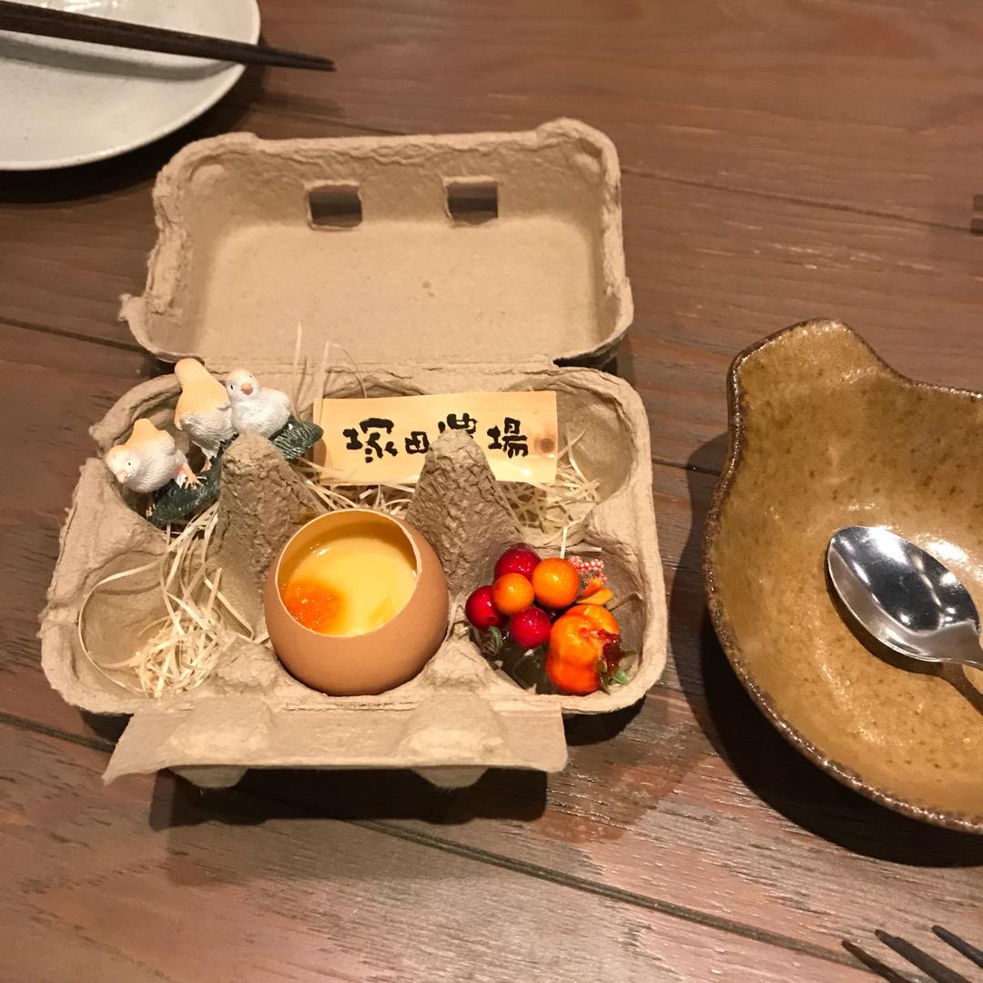 お通しが可愛すぎる…  #塚田農場